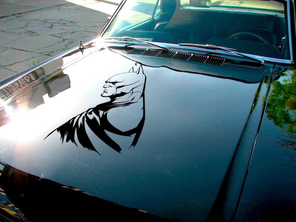 Bruce Wayne Detective v2 Enterprises Justice Dark Knight Gotham Superhero Decal Car Truck Hood Vinyl Sticker