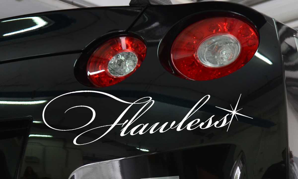Flawless Lowered Stance Japan Performance JDM Car Windshield Vinyl Sticker Decal