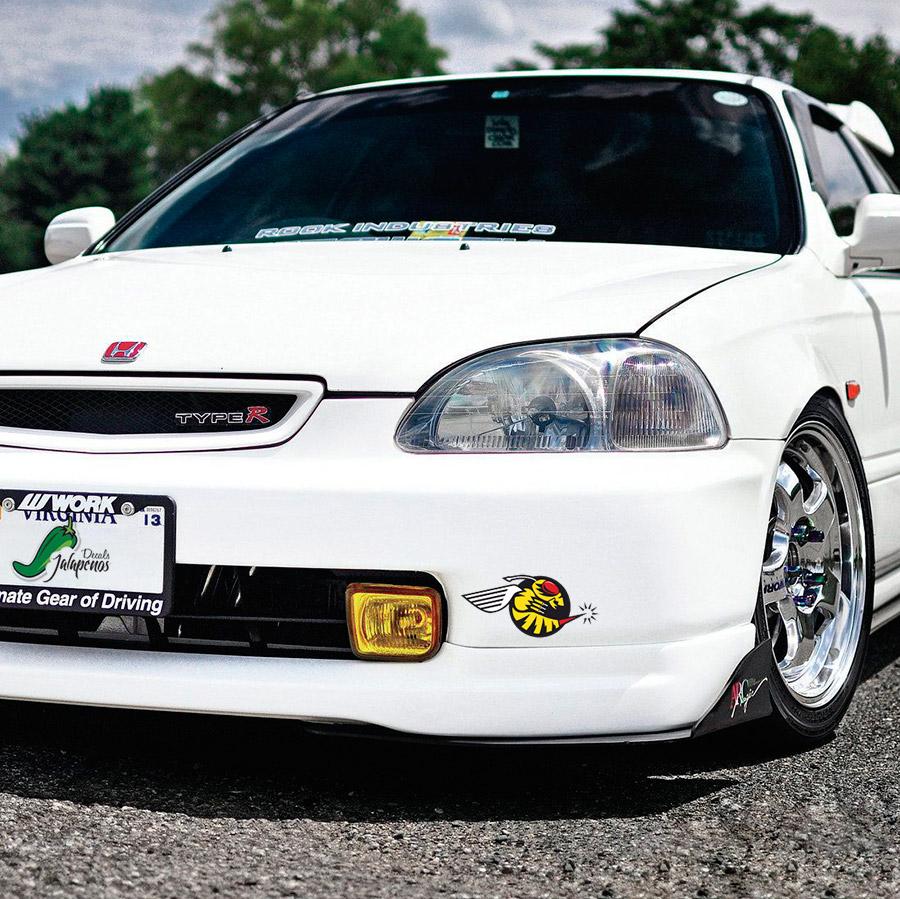 Buy Honda Loyalty Banner Drift Jdm Windshield Civic Ek Eg Ef Acura