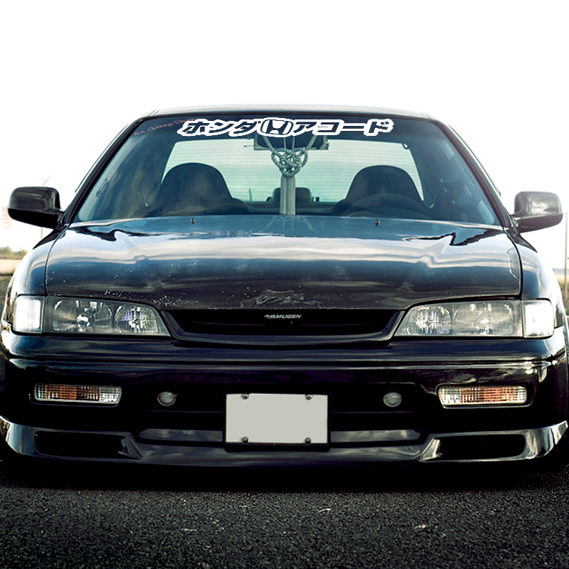 Buy Kanji Katakana Windshield Banner StripLogo Honda Accord Civic - Honda accord decals stickers