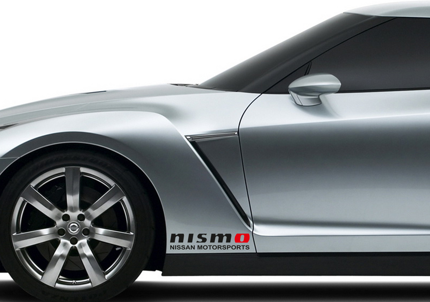 2x NISMO Nissan Motorsport 350z 370z GTR Skyline Racing Car Window Body Bumper Vinyl Sticker Decal