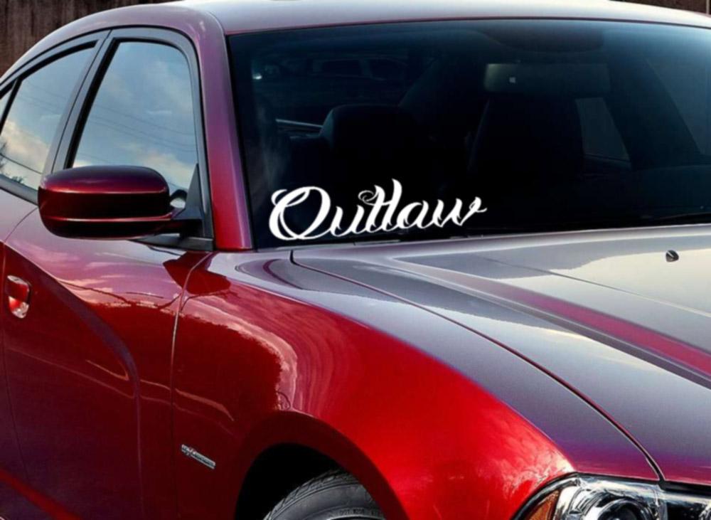 truck window Underground racing jdm windshield banner vinyl decal car