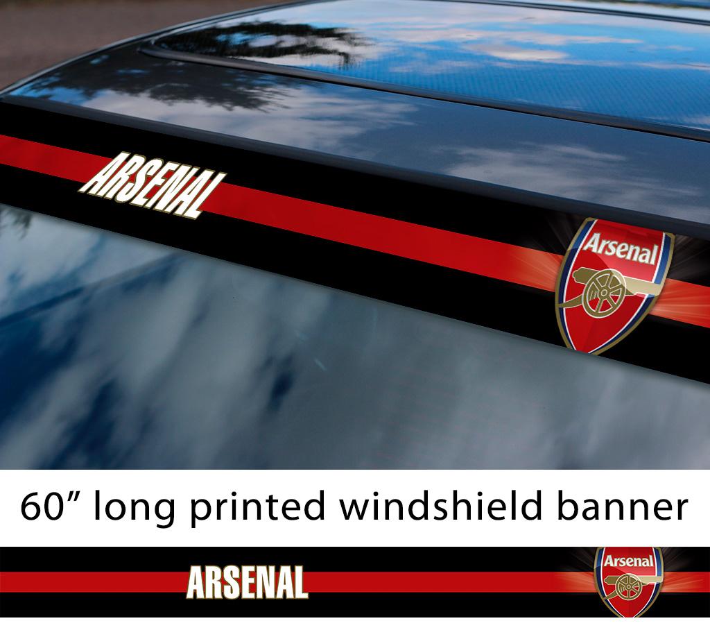 Custom Arsenal Badge Sticker Car Sticker Window Sticker