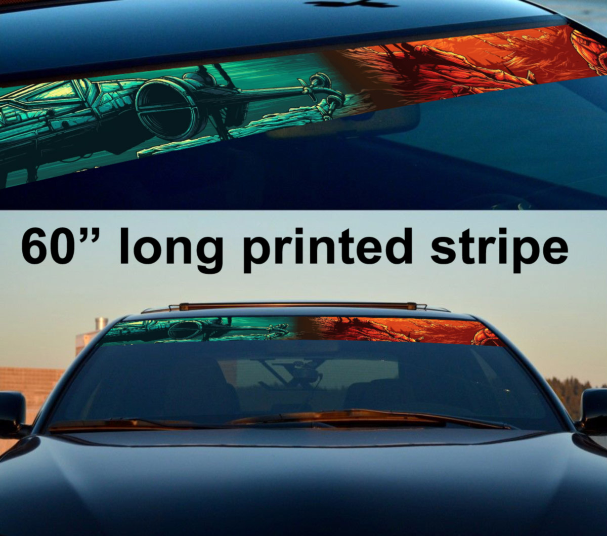 Seat WINDSHIELD CAR SCREEN SUNSTRIP sticker