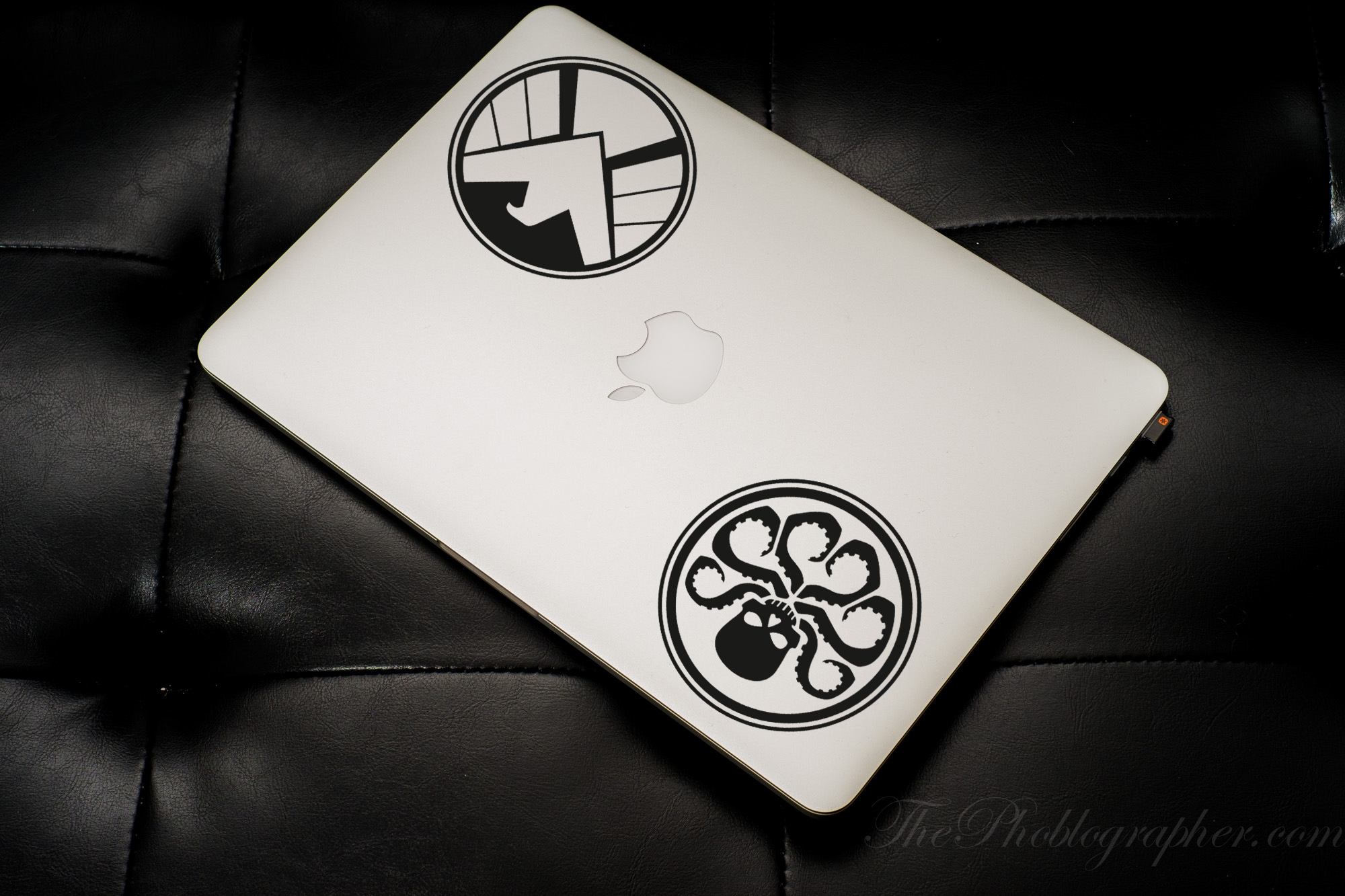 2in1 Logo Agents of S.H.I.E.L.D. Logo Shield Hydra Comics Avengers Car Laptop Vynil Sticker Decal