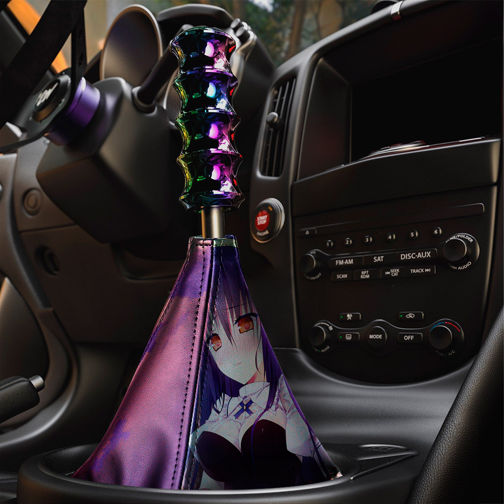 Absolute Duo v1 Blaze Yurie Sigtuna Tomoe Tachibana Lilith Bristol Sexy Hot Anime Manga Eco Leather Printed Car Shift Boot