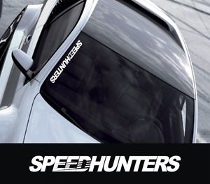 "19"" Speed Hunters Royal Event Stance Banner Strip JDM Low Vinyl Decal"