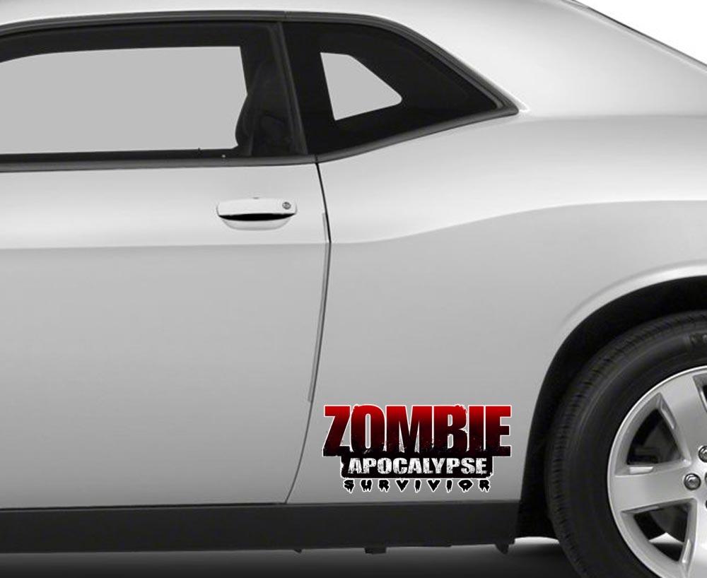 Buy Hood Zombie Hand Scratch Stripe Outbreak Response Team Car Vinyl